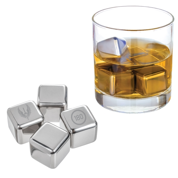 Stainless Steel Whiskey Ice Cube