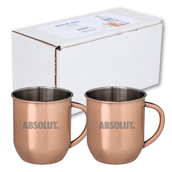 Mosconi Moscow Mule - 2 Mug Set
