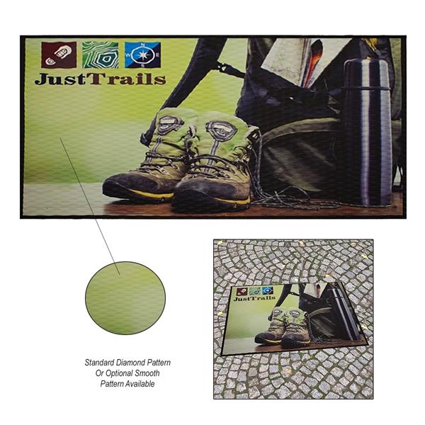 3' x 5' Floor Impressions Indoor Floor Mat