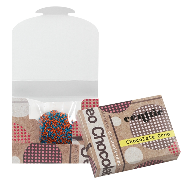 Chocolate Covered Oreo® Box With Nonpareil Sprinkles
