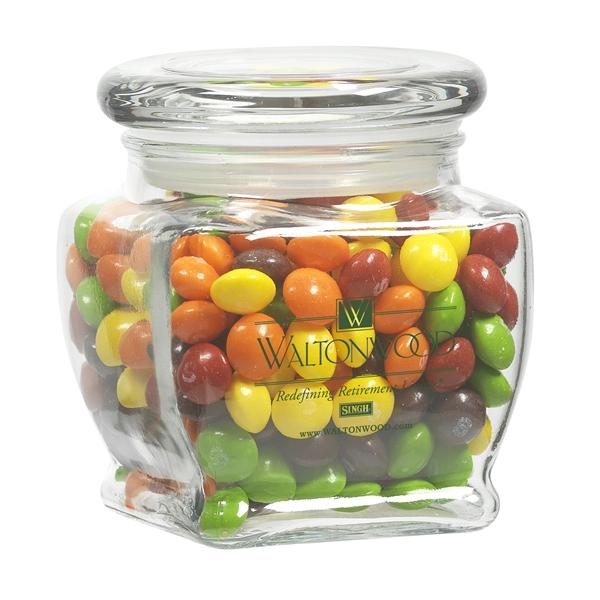 10 oz Footed Glass Jar