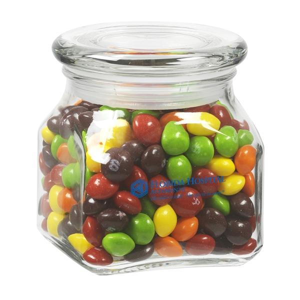 Contemporary Glass Jar / Skittles®