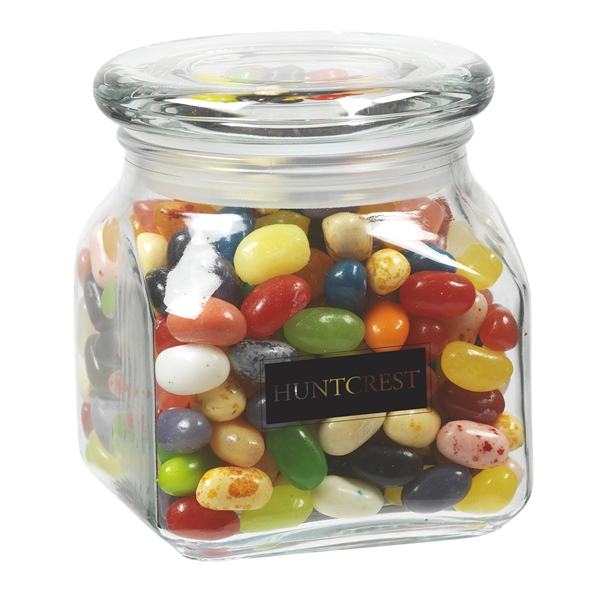Contemporary Glass Jar / Jelly Belly® Jelly Beans