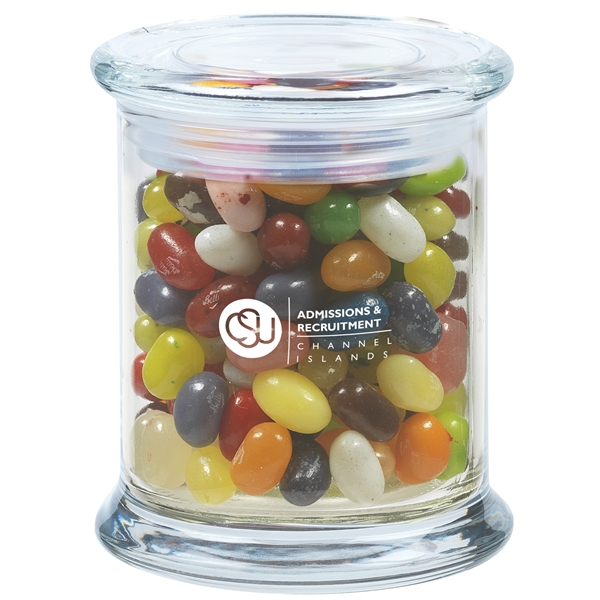 11 oz. Jelly Belly® Jelly Beans in Glass Status Jar
