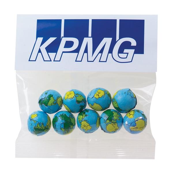 2 oz Chocolate Earth Balls / Header Bag