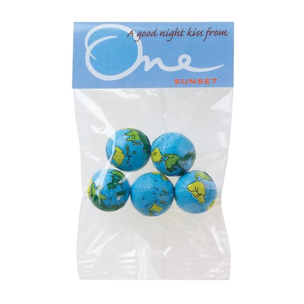 1 oz Chocolate Earth Balls / Header Bag