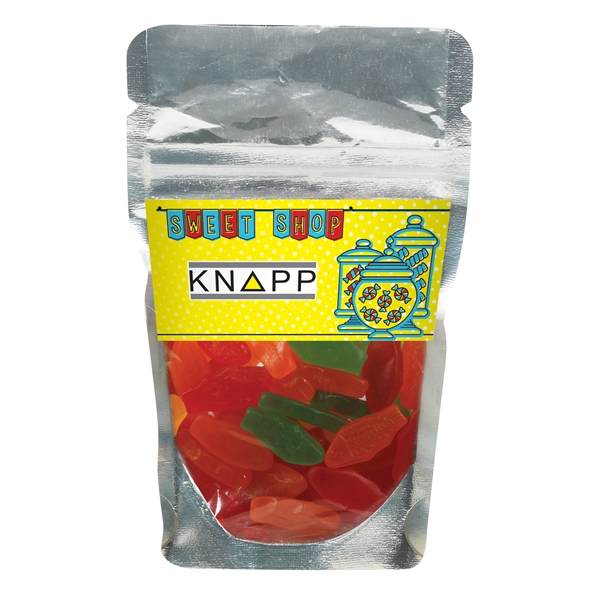 Resealable Clear Pouch With Swedish Fish®