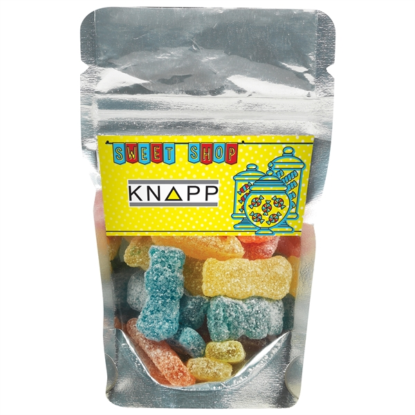 Resealable Clear Pouch With Sour Patch® Kids