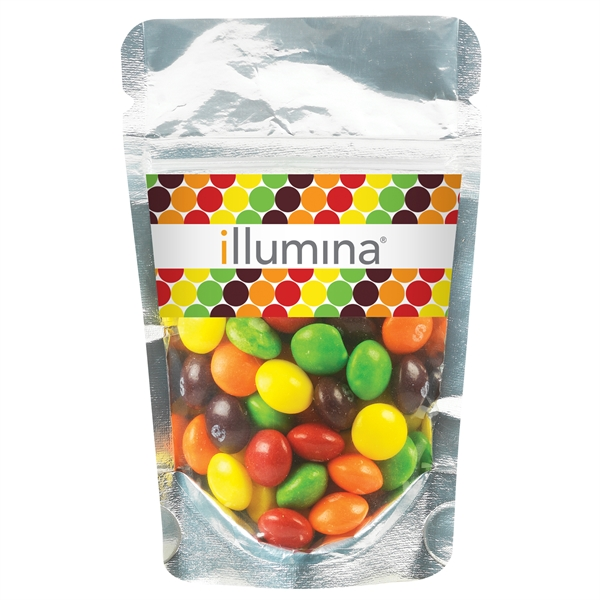 Resealable Clear Pouch With Skittles®