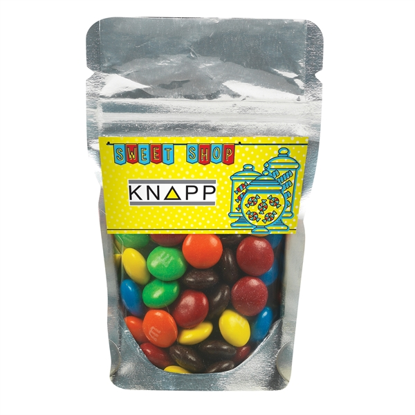 Resealable Clear Pouch With M&Ms®