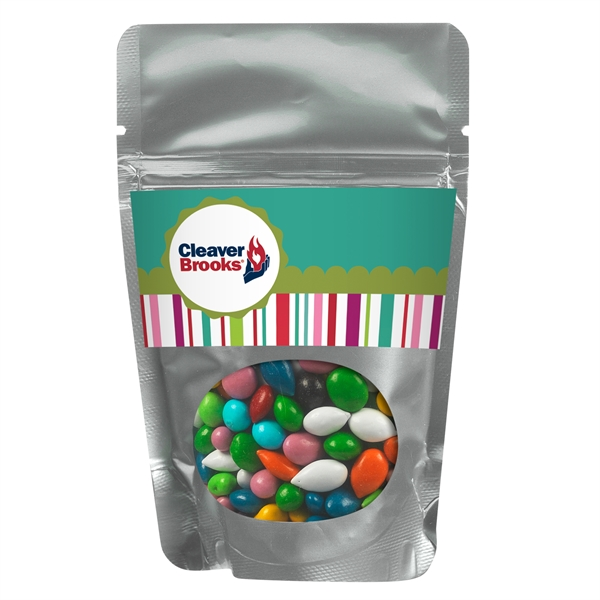 Resealable Window Pouch With Chocolate Sunflower Seeds