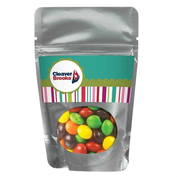 Resealable Window Pouch With Skittles®