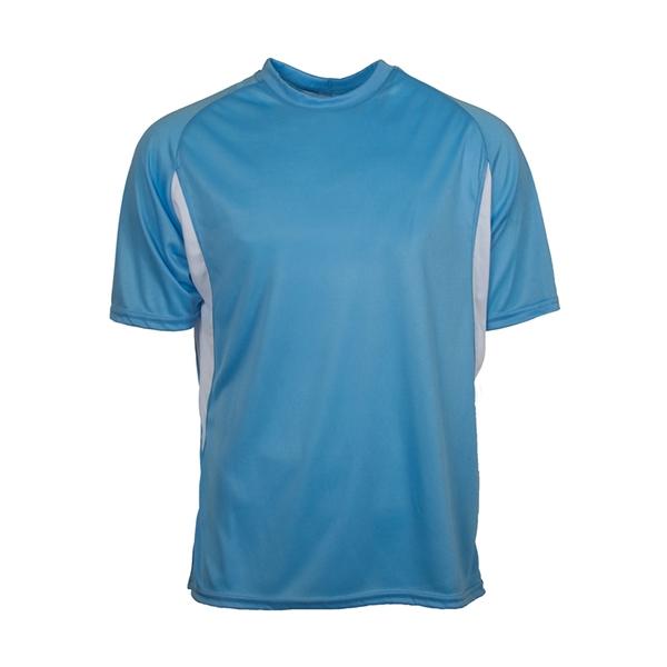 Colorblock Interlock shirt