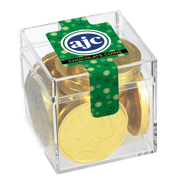 Signature Cube Collection - Chocolate Coins