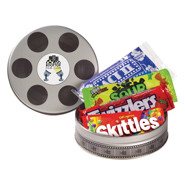 Small Film Reel Tin / Movie Night