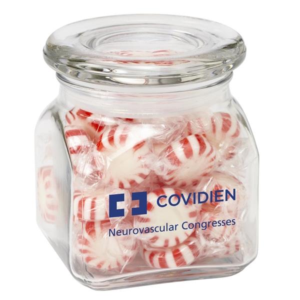 Contemporary Glass Jar / Starlight Mints