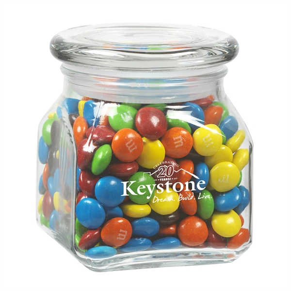 Contemporary Glass Jar / M&Ms®