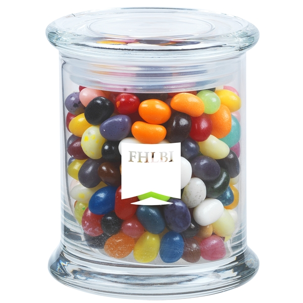 11 oz. Gourmet Jelly Beans in Glass Status Jar