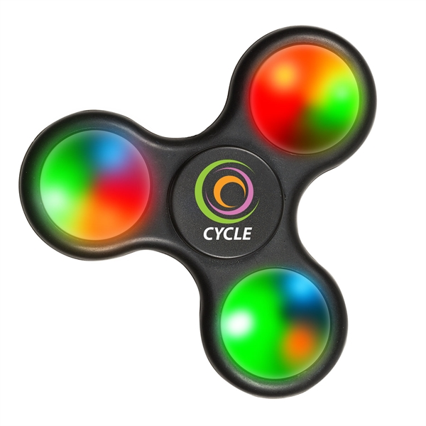 LIGHT-UP FIDGET SPINNERS