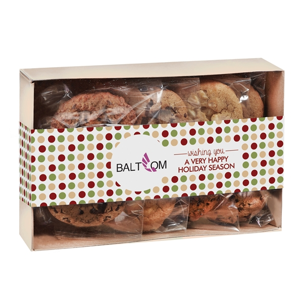 Contemporary Gourmet Cookie Gift Box