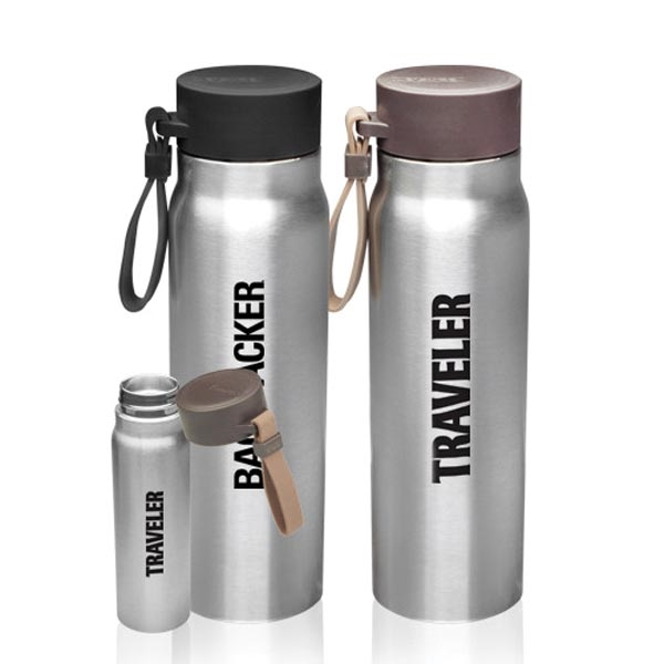 17 oz. Vacuum Insulated Water Bottle/Carrying Strap