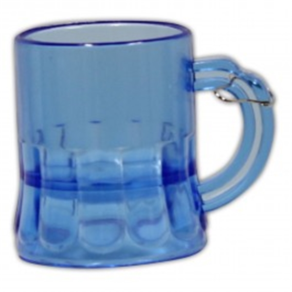 2 oz. Blue Beer Mug Medallion with J-Hook