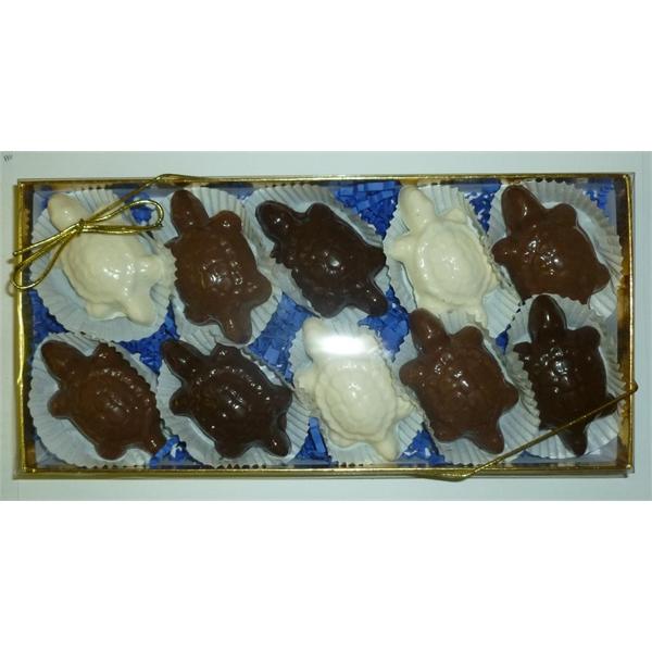 Caramel Pecan Turtles 10 Pack Gift Box