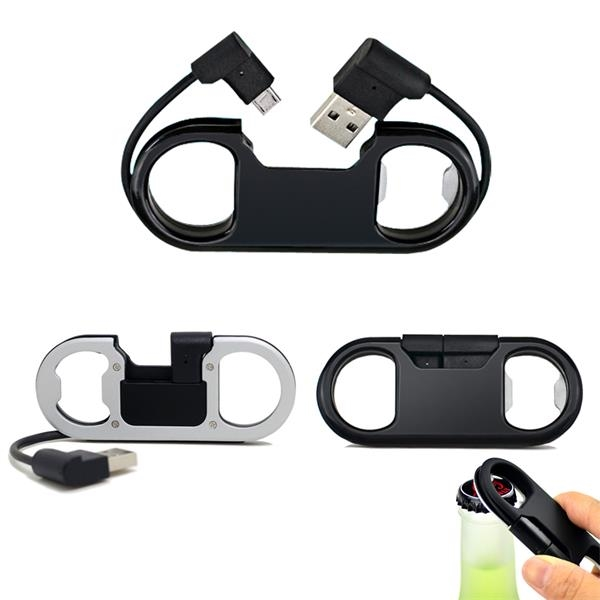 Multifunctional Bottle Opener Charge Sync Cable