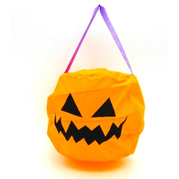 Pumpkin Candy Bag For Halloween