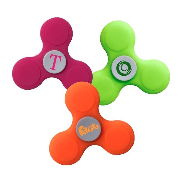 Custom Silicone Fidget Spinners