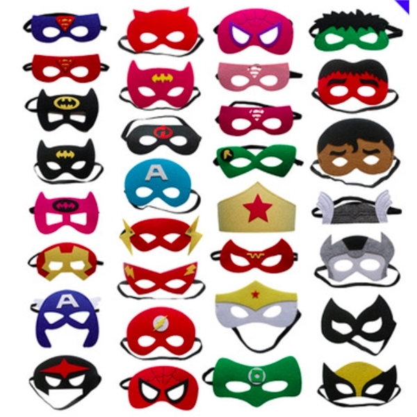 Children Halloween Party mask 40 styles Superman Mask Eye