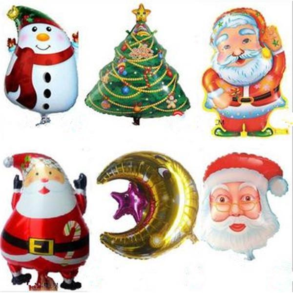 Christmas Mylar Balloons