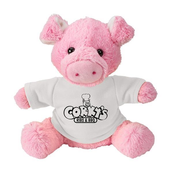 Fuzzy Friends Pig