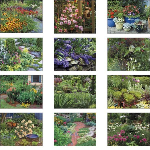 Stapled Garden Walk Lifestyle Appointment Calendar