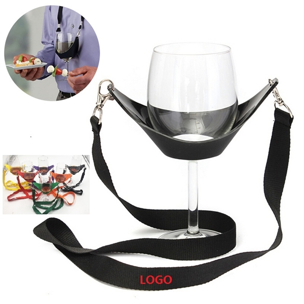 Wine Glass Cup Holder Lanyard