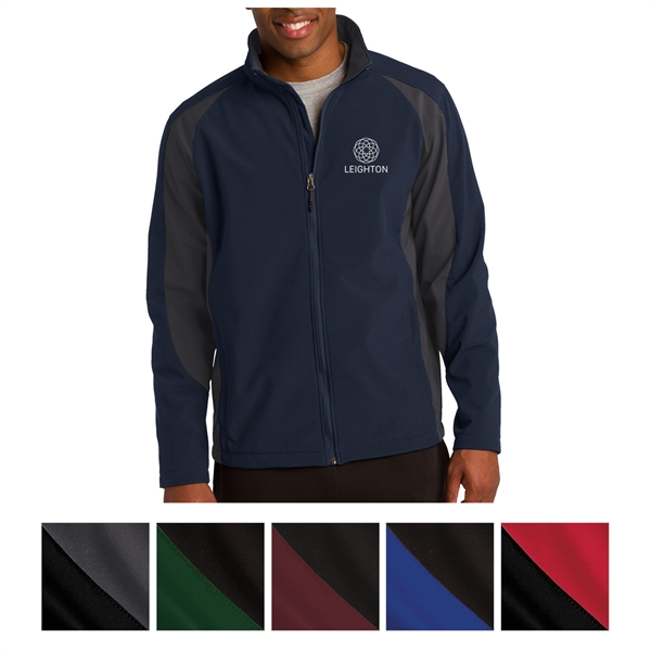 Sport-Tek Colorblock Soft Shell Jacket
