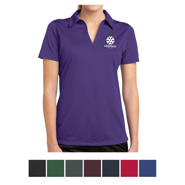Sport-Tek Ladies' PosiCharge Active Textured Polo