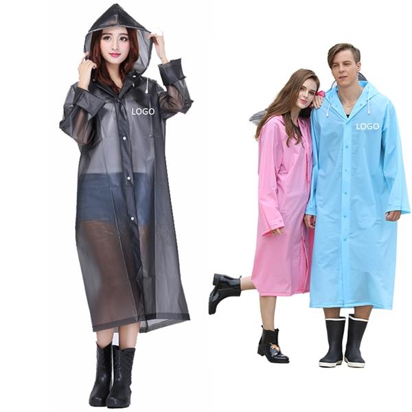 Transparent EVA Rain Jacket