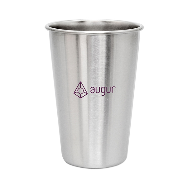16 oz. Stainless Steel Pint Glass