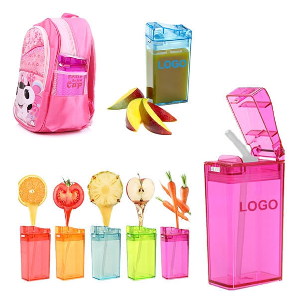 Creative Child Water Bottles Kids Leakproof Fruit Juice Cups