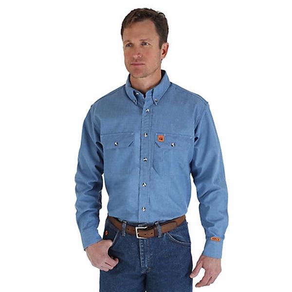 Wrangler Riggs Workwear FR Flame Resistant Work Shirt