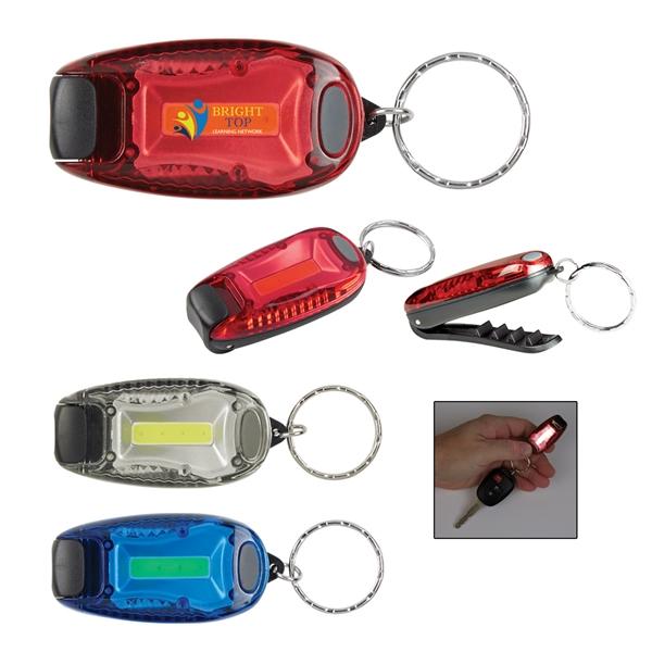 COB Clip Light Key Tag