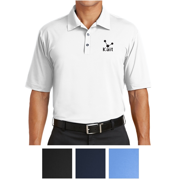 Nike Golf Elite Series Dri-FIT Ottoman Bonded Polo