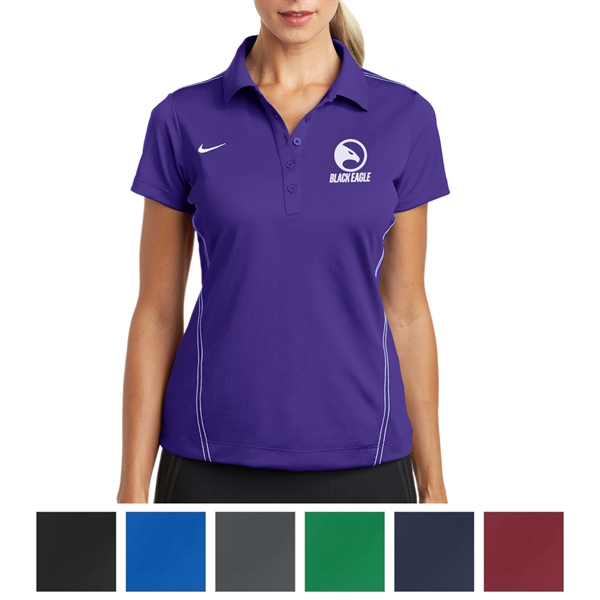 Nike Golf Ladies' Dri-FIT Sport Swoosh Pique Polo
