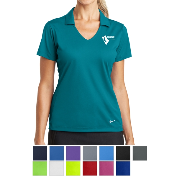 Nike Golf Ladies' Dri-FIT Vertical Mesh Polo