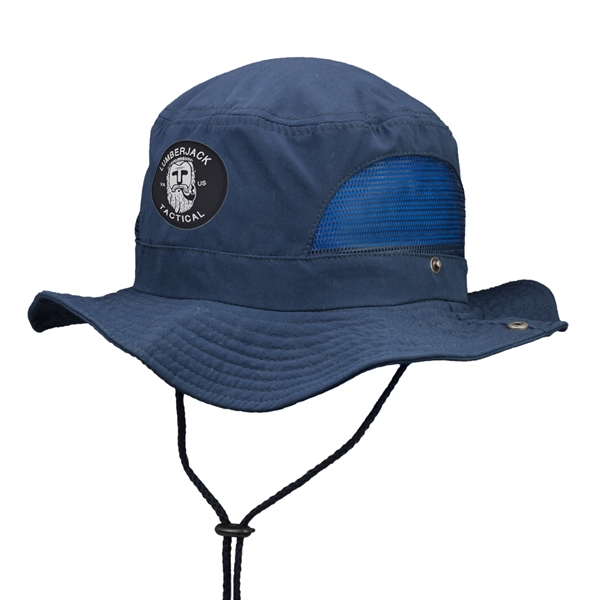 Bucket Hat with Mesh Sides