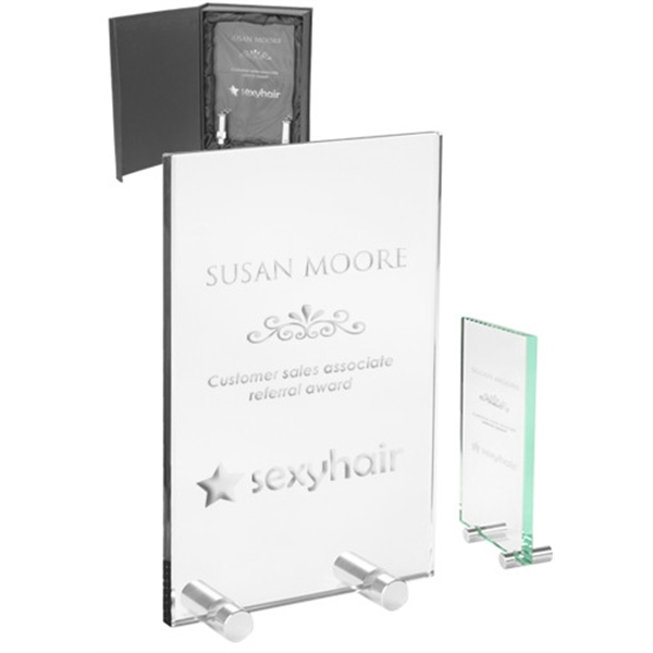 Mid Size Chroma Glass Awards with Double