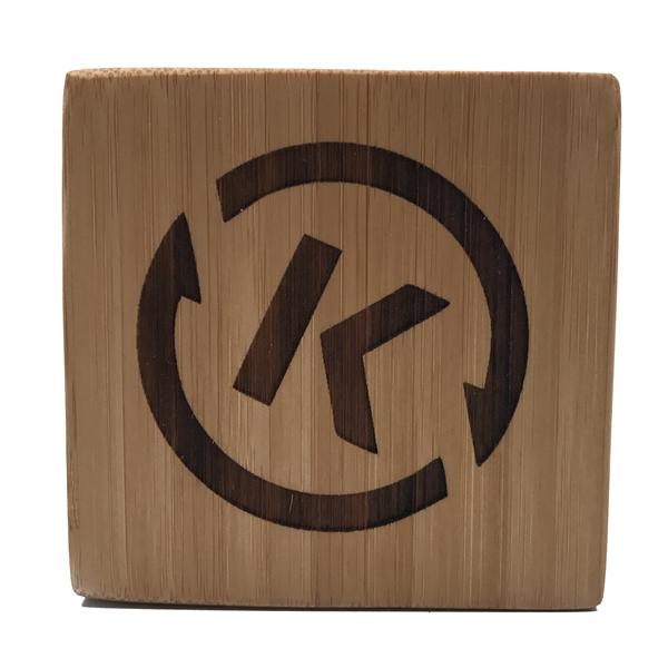 Custom Laser Engraved Branded Wooden Blocks