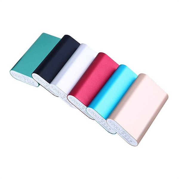 5200 mAh Aluminum Power Bank