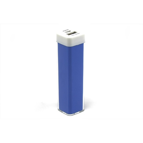 Power Bank - 2600 mAh Plastic / Acrylic popular power banks